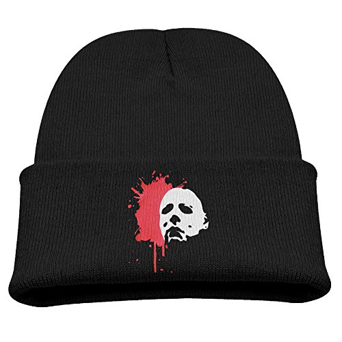 Skull Beanie Caps Halloween-Hoodie-Horror-Film-Michael-Myers Trendy Soft - Myer Kids Clothing