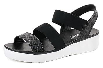 2017 nuevas sandalias planas del verano planas con salvaje en las sandalias , 1 , 38