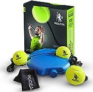 POLOZA Professional Tennis Trainer – Tennis Trainer Rebound Ball – Tennis Equipment for Self-Practice – Portab