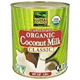 Native Forest Organic Classic Coconut Milk, no.10 can -- 6 per case.