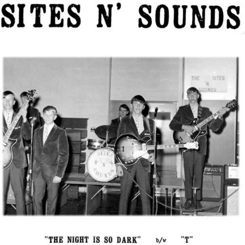SITES N\\\' SOUNDS - The Night Is So Dark (7 Inch Single)
