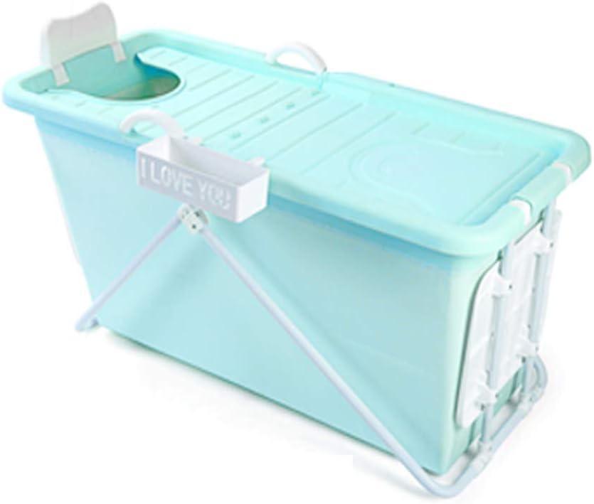 大人用浴槽、ポータブル折りたたみ式浴槽、折りたたみ式子供用シャワートレイ、快適な折りたたみ式ベビー用浴槽、浴槽、3色(色:青)