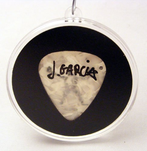 Jerry Garcia Artwork Guitar Pick Christmas Ornament (Grateful Dead Christmas Tree)