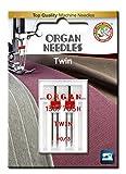 organ twin needle - ORGAN NEEDLES 4964832510815 Twin Needles