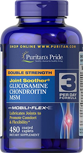 Puritan's Pride Double Strength Glucosamine, Chondroitin & M