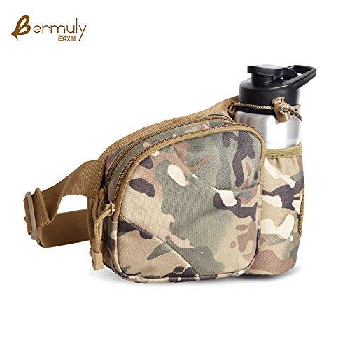 Ligera BMKWSG Hombro Mujeres para Deportes y al Bandolera para Libre Casual CP Aire Mochila Camouflage Hombres Estilo de ErPrg