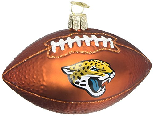 Old World Christmas Glass Blown Ornament Jacksonville Jaguars - Jaguars Jacksonville Ornaments