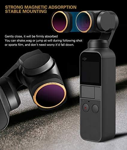 CZFRIEND カメラレンズフィルターセット アクセサリー レンズ磁気調整保護 OSMOポケット用