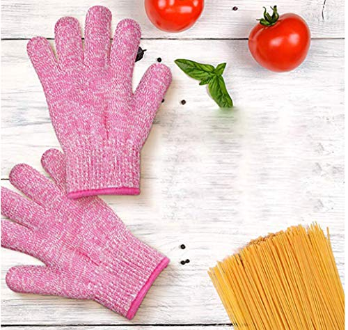 Yu2d  Safety Cut Proof Stab Resistant Stainless Steel Gloves Metal Mesh Butcher -