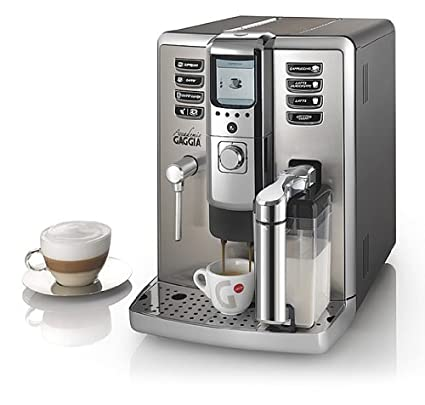Philips Gaggia RI9702/02 Accademia - Cafetera de espresso de acero inoxidable [Importado de
