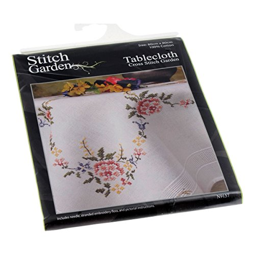 Cross Stitch: Tablecloth - Garden