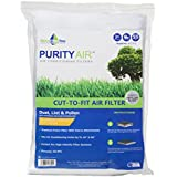 """Purity Air Cut to Fit non woven white air filter 16"""" X 60"""" for air conditioning units - Single Pack"""