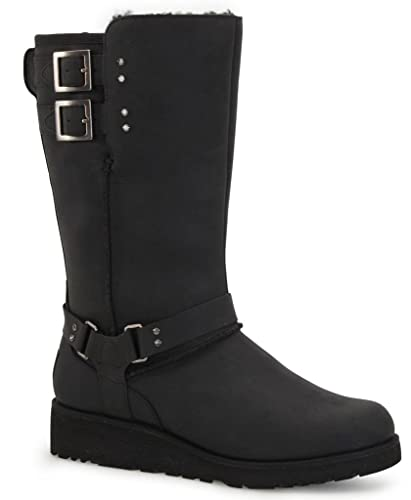 Womens Boots UGG Jasper Black Leather