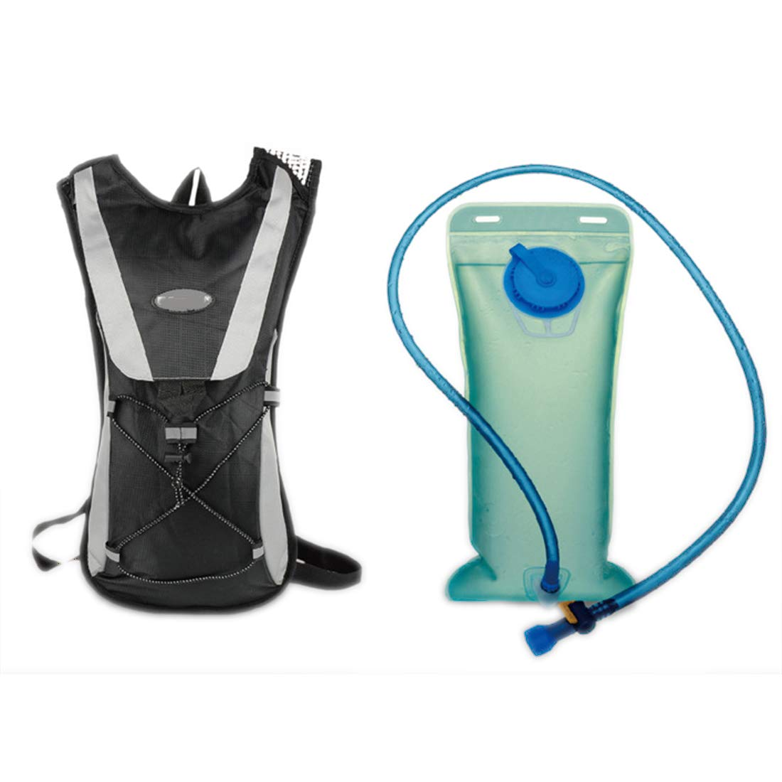 Massun Cycling Bike Bicycle Backpack for Storage Water Bag Bladder