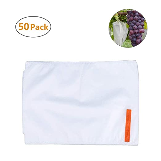 Xiaoqingmiao 50 pcs Légumes Fruits Sac de protection ...