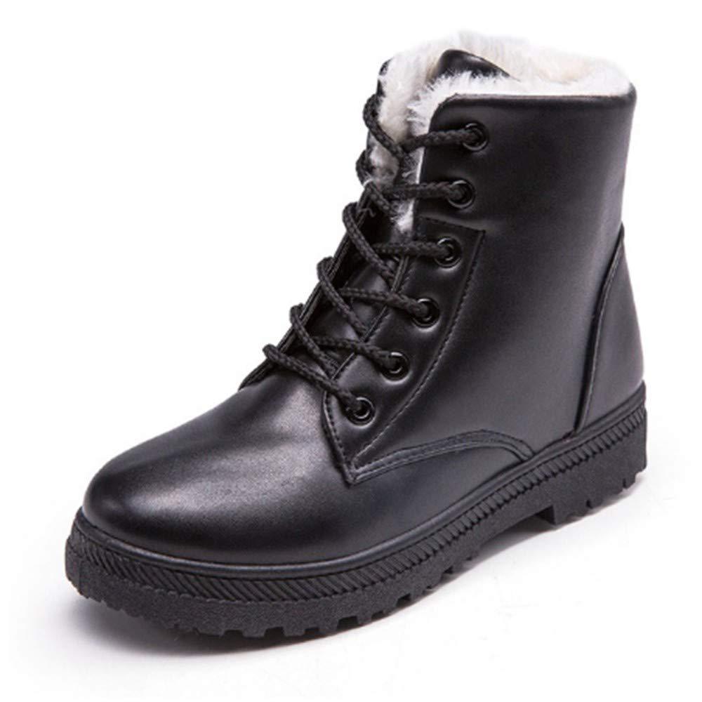 FMWLST Stiefel Frauen Winterstiefel Warme Warme Warme Stiefeletten Schnee Stiefel Damenschuhe Spitze Stiefel 548c1d
