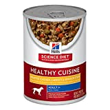 Hill's Science Diet Adult 7+ Healthy Cuisine Roasted Chicken, Carrots & Spinach Stew Dog Food, 12.5 oz, 12-pack