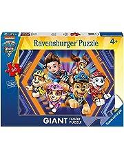 Ravensburger Puzzel, Paw Patrol film, puzzel, 60 stukjes, puzzel voor kinderen, aanbevolen leeftijd 4+, hoogwaardige puzzel