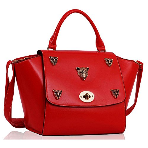 TrendStar - Bolsos Mujer E - Red