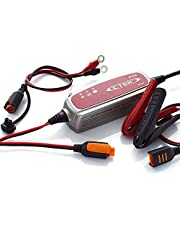 CTEK XC 0.8 Smart Battery Charger 4-Stage 6V 0.8Amp with Connect Clamps (56-772)