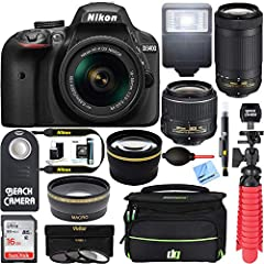 Nikon refurbished to factory specification of new operating condition backed by a 90-day Nikon Warranty. Item is in mint or near mint condition and comes with all original Nikon supplied accessories. Welcome to photography.Before the D3400, y...