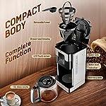 Amzdeal-Macchina-Caffe-Caffettiera-Americana-Programmabile-24H-con-Filtro-Riutilizzabile-1000W-Funzione-Arome-Autopulente-Mantenimento-4H-Touch-Screen-LCD-Temperatura-Regolabile-Brocca-18L
