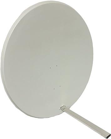 TV Tech Antena parabólica universal de 100 cm para cielo, freesat, Arabsat, Polsat, Hotbird, Eurosat, Astra 1 y 2
