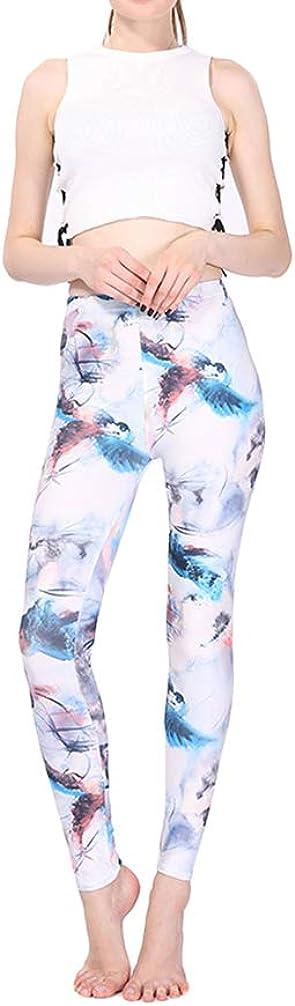 WanYangg Leggings Donna Pantacollant Pantacollant Fantasia Colorati Classico vestibilit/à Slim Push Up Pantaloni Leggings Graffiti Mimetici Nove Pantaloni Stampati a Matita