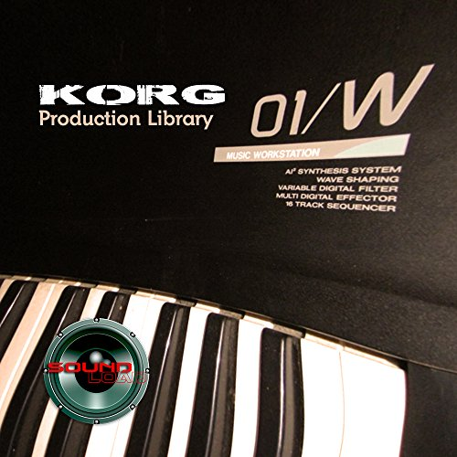 KORG 01/W Original Sound Library on CD