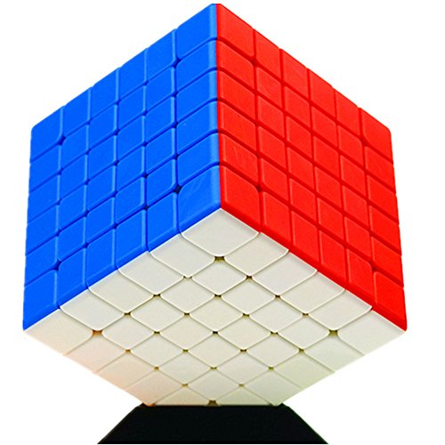 CuberSpeed Cube 6x6 Stickerless Speed Cube 6x6x6 Stickerless Magic Cube Puzzles