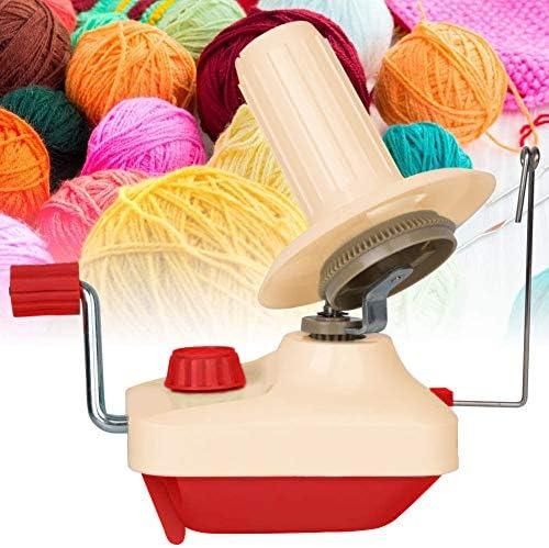 Ball Winders, Yarn Knitting Loom Crochet Swift Yarn Fiber String Ball Wool Winder DIY Tool Kit, 1Yarn Ball Winder+1PC Scissors (2)