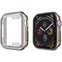 YGGFA Slim Horloge Cover voor Apple Horloge Case 6 SE 5 4 3 2 1 42 MM 38 Zachte Clear Frame TPU Screen Protector voor…