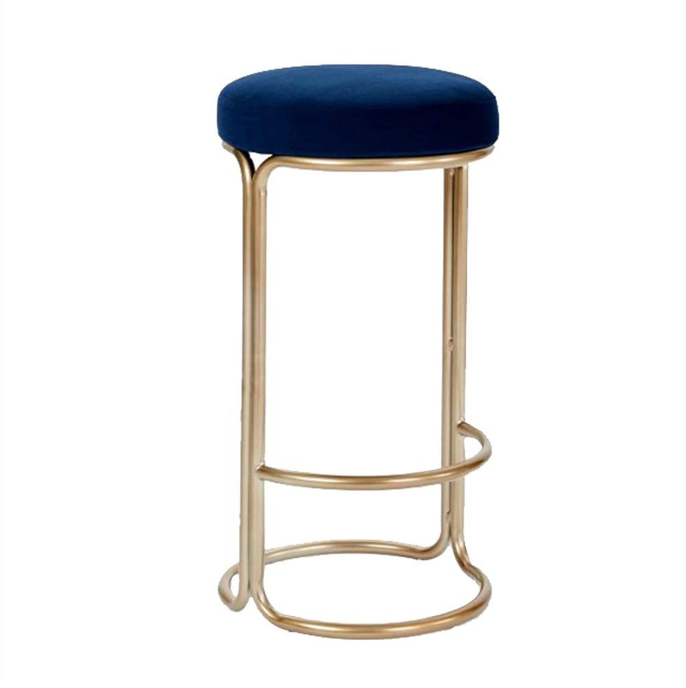 AO-stools Simple Bar Stool Modern Dining Chair Lounge Chair Bar Chair 75x39cm
