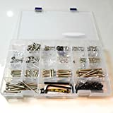 Aluminium Workshop Box 200 Piece Silver