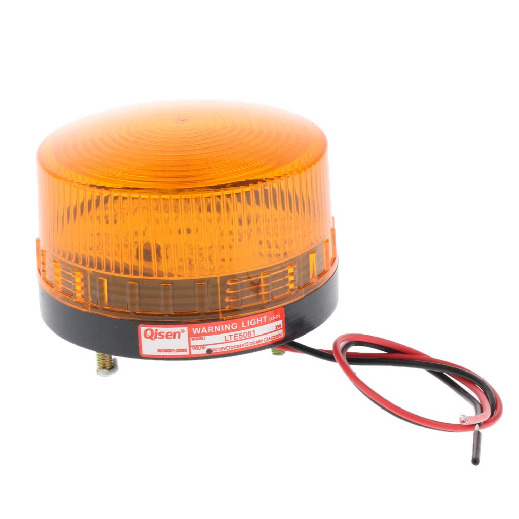 FLAMEER Warnblinkleuchte Orange LED Autos Warnleuchte 12 V Warnblinkanlage Blitzsignal Warnleuchte
