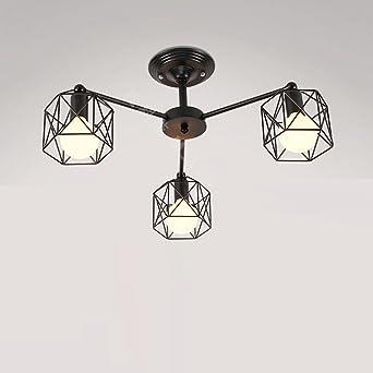 Vent Personnalité Flamme Suspension Retro Industriel 3 Plafond Lampe UpqSzGMLV