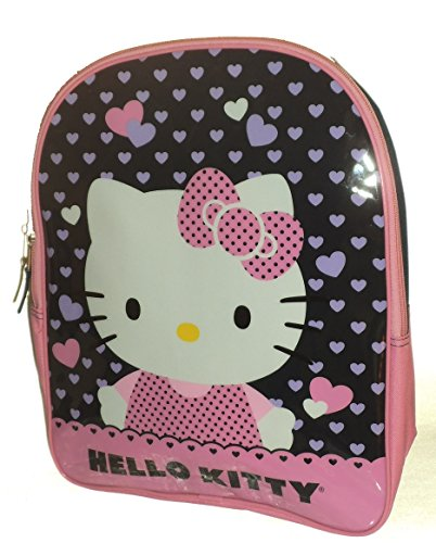 Pink & Purple Hello Kitty School Backpack Back Pack Book Bag