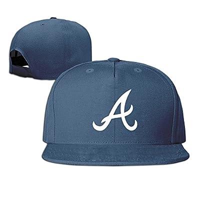 LuN Atlanta Braves Baseball Cap Baseball Cap Flat Bill Hat Unisex