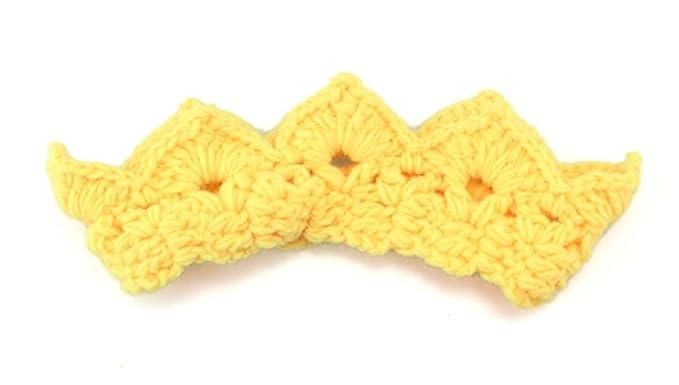 Amazon Newborn Baby Infant Toddler Princess Crochet Crown Tiara