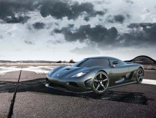 Koenigsegg Agera R 2013 Car Art Poster Print on 10 mil Archival Satin Paper