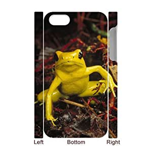 HXYHTY Diy hard Case Frog customized 3D case For Iphone 4/4s