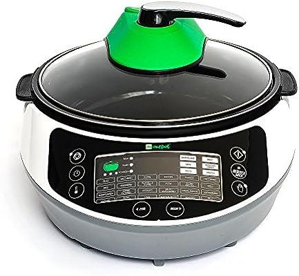 ONEPOT - la olla multifuncional, robot de cocina y cacerola eléctrica - 31 en 1 - programas para cocinar a presión, sofreir, fritar, asar, rehogar, saltear, hornear y mucho más - alta calidad alemana: Amazon.es: Hogar