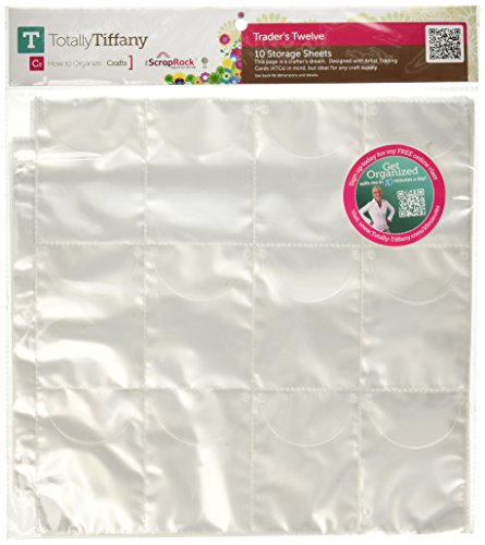 Totally-Tiffany SRSP-P44 Scrap Rack Basic Storage Page, Traders 12, 10-Pack by Totally-Tiffany