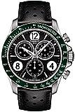Best Tissot Watches - Tissot V8 T106.417.16.057.00 Black Leather Analog Quartz Men's Review