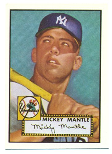 1991 Topps Mickey Mantle 1952 Rookie Reprint from the 1991 East Coast National - Baseball Card ()