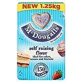 McDougalls Self Raising Flour 1.25kg - Pack of 2