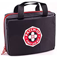 Patch-Up First Aid Kit (300 Pieces-40 Unique Items) Ideal For Large Groups Family Emergency Disaster Earthquake Survival & Outdoors Sports Camping Hiking Car RV Boat. Protect Your Loved Ones.