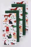 The Big One Christmas Dogs Kitchen Towel 5-pk.