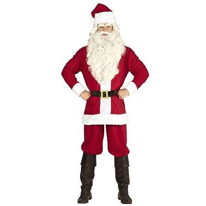 Traje para navidad Santa Claus para hombre / Rojo-Blanco en ...