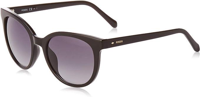 Fossil Damen Fos 3094 S Sonnenbrille Black 51 Amazon De Bekleidung